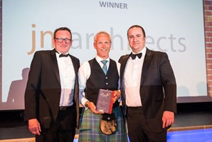 Commercial Architect of the Year at 2016 Grafters Awards