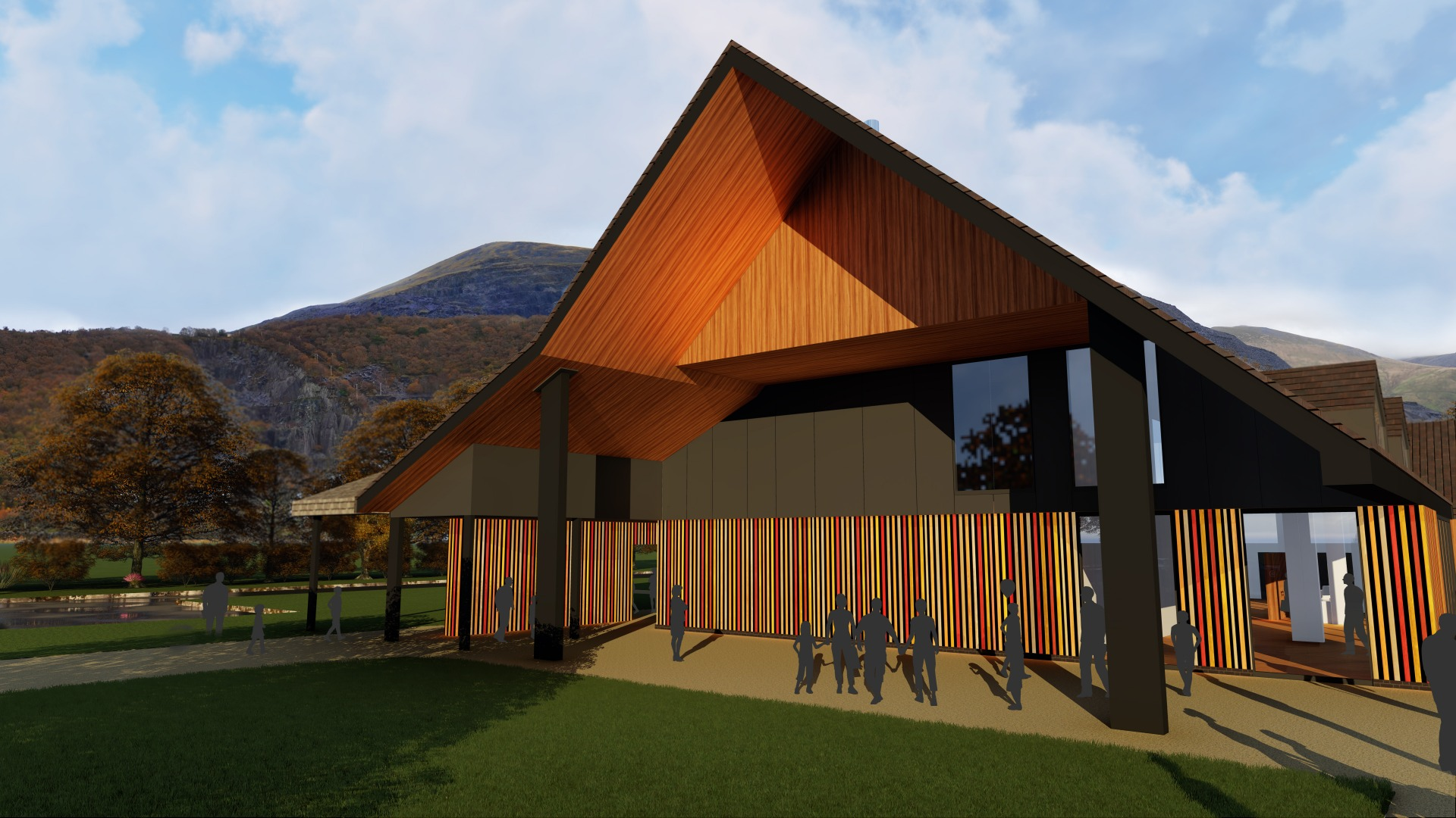 Planning Approval for Dinorwic Visitor Centre, Wales